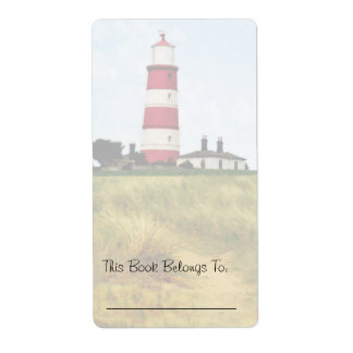 Path to the Lighthouse Bookplate Label
