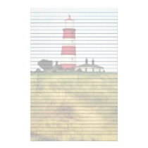 Path to the Lighthouse Lined Stationery