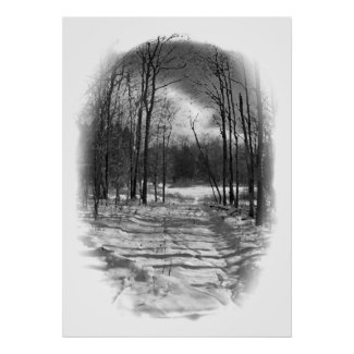 Path to the Pond Print