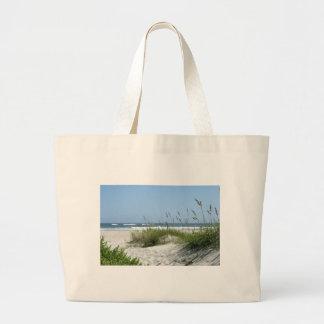 Path to the Sea-Ocracoke Island Large Tote Bag