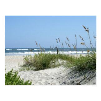 Path to the Sea-Ocracoke Island Postcard