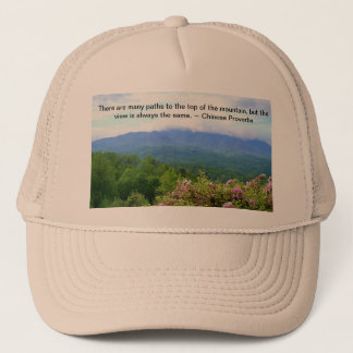 Path to the top trucker hat
