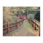 Path Unknown Wood Canvas