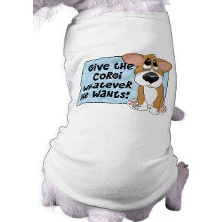 Pathetic Eyes Corgi Dog Shirt