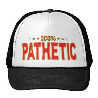 Pathetic Star Tag Cap