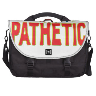 Pathetic Star Tag Bag For Laptop