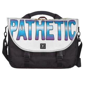 Pathetic Star Tag v2 Computer Bag