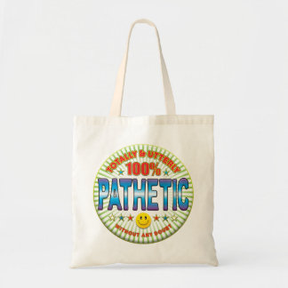 Pathetic Totally Canvas Bag