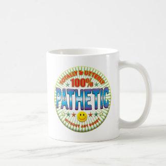 Pathetic Totally Coffee Mug