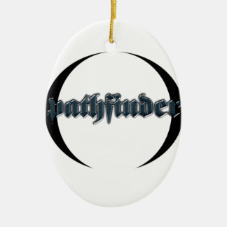 pathfinder ceramic ornament