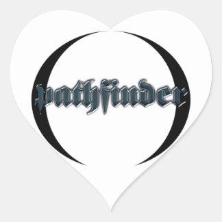 pathfinder heart sticker