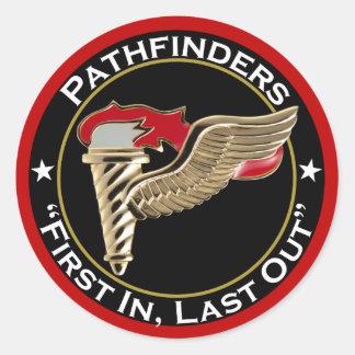 Pathfinder Motto Classic Round Sticker