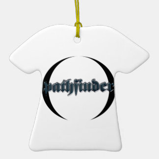 pathfinder Double-Sided T-Shirt ceramic christmas ornament
