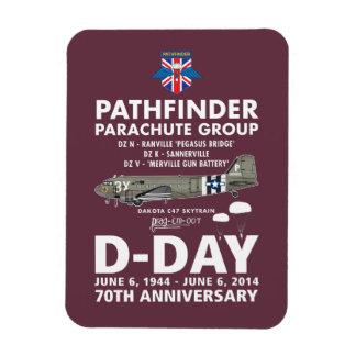 PATHFINDER PARACHUTE GROUP MAGNET