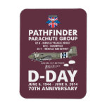 PATHFINDER PARACHUTE GROUP MAGNET RECTANGLE MAGNETS
