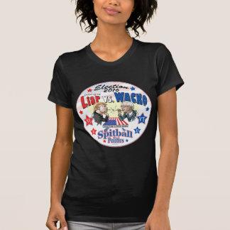 Pathological Liar Trump vs Wacko Bernie 2016 T-Shirt