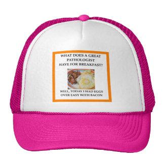PATHOLOGIST TRUCKER HAT