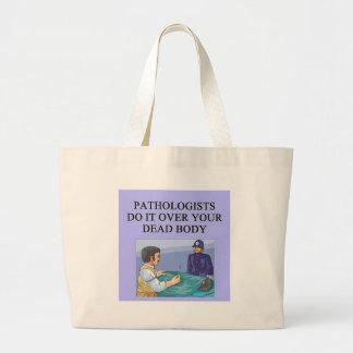 PATHOLOGISTSjpeg Large Tote Bag