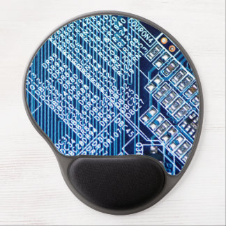 Paths on a computer plate gel mouse pad
