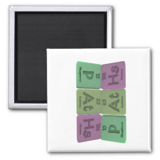 Paths-P-At-Hs-Phosphorus-Astatine-Hassium.png 2 Inch Square Magnet