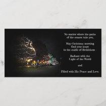 Paths To Christmas Holiday Card