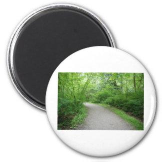 PathTurn052309 2 Inch Round Magnet