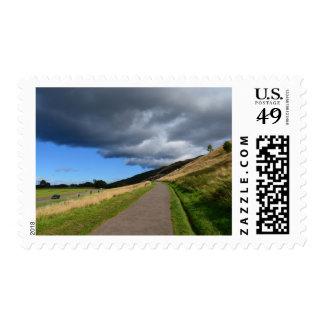 Pathway at Arthur's Seat Postage Stamp