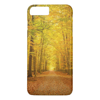 Pathway in the autumn forest iPhone 8 plus/7 plus case