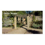 Pathway In The Rookery, Streatham Common Business Cards