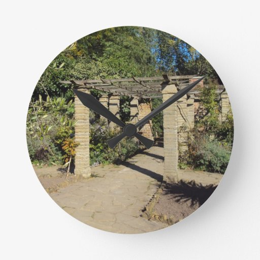Pathway In The Rookery, Streatham Common Round Wallclock