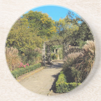 Pathway In The Rookery Streatham Common Drink Coaster