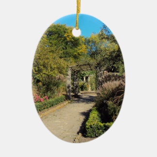 Pathway in the Rookery, Streatham Common, London Ceramic Ornament