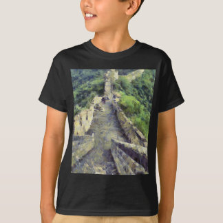 Pathway on the Great Wall of China T-Shirt