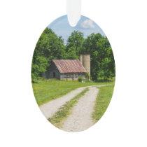 Pathway Through A Farm Ornament