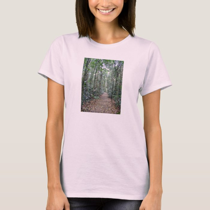 Pathway through the forest T-Shirt