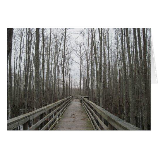 Pathway Through the Wilderness Card
