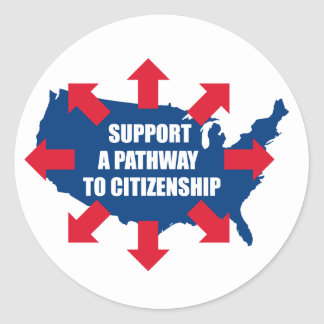 Pathway To Citizenship Stickers