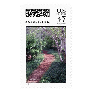 Pathway to My Heart Postage Stamp