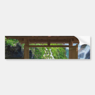 Pathway to Paradise Bumper Sticker