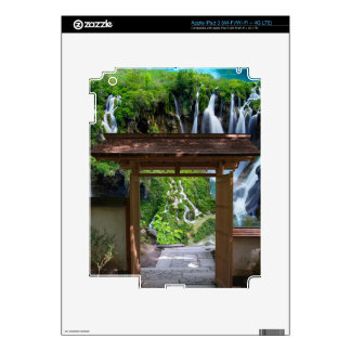 Pathway to Paradise Decals For iPad 3