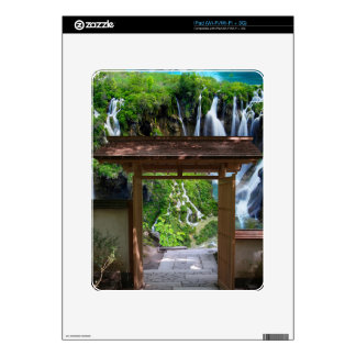 Pathway to Paradise iPad Decal
