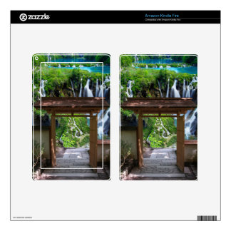 Pathway to Paradise Kindle Fire Skins
