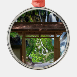 Pathway to Paradise Metal Ornament