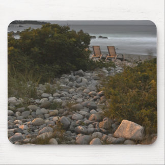 Pathway To Paradise Mousepads