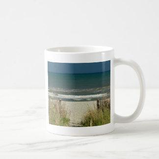 Pathway to the Ocean Waves Coffee Mug