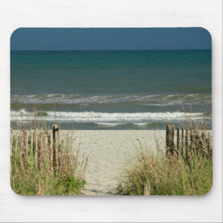 Pathway to the Ocean Waves Mouse Pad