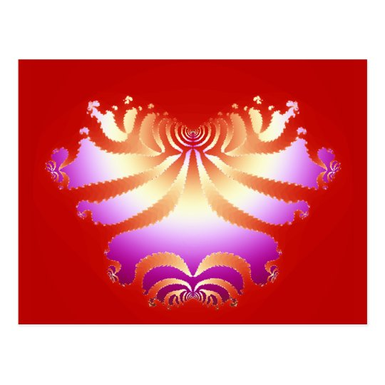 Pathways To The Heart ~ Postcard