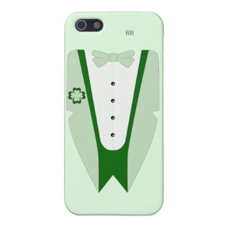 Pati O'Case Shades of Green Dinner Jacket Case For iPhone SE/5/5s