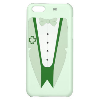 Pati O'Case Shades of Green Dinner Jacket iPhone 5C Cases
