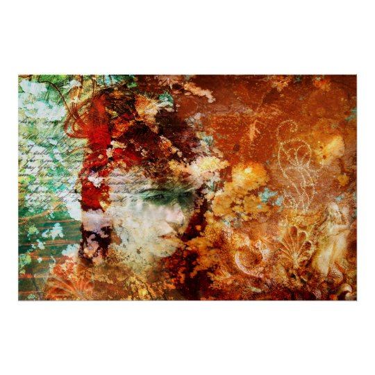 Patience (Conceptual Abstract Art Poster) Poster